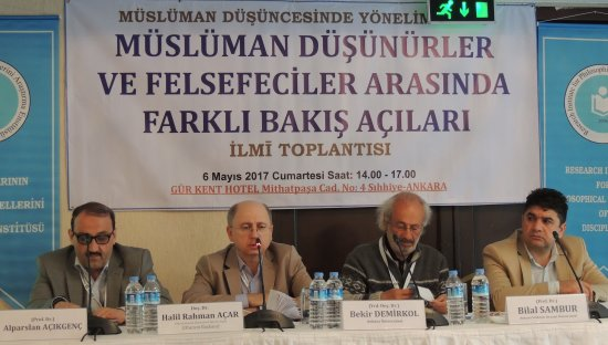 MÜSLÜMAN DÜŞÜNCESİNDE YÖNELİMLER İLMĪ TOPLANTISI -3