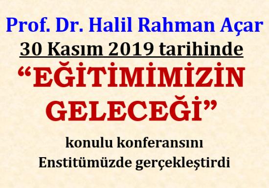 """""""EĞİTİMİMİZİN GELECEĞİ"""""""
