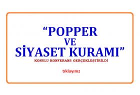 Popper ve Siyaset Kuramı